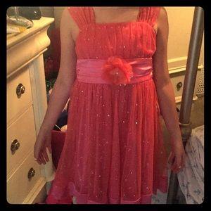 Sparkle Pink Formal Dress
